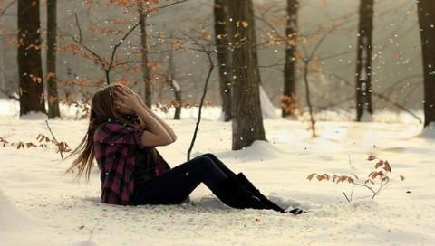 Девушки в снегу фото фото 175-19