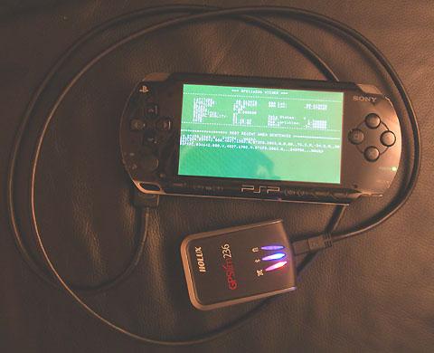 подключение GPS к PSP