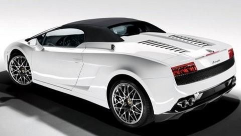 ламборджини кабриолет белая