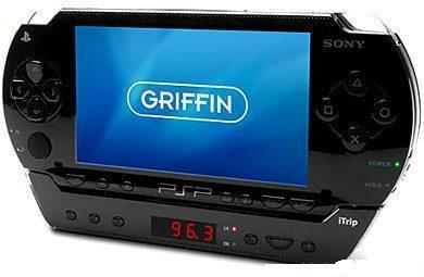 FM-тюнер и Пульт ДУ для PSP