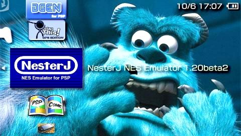 NesterJ NES Emulator 1.20