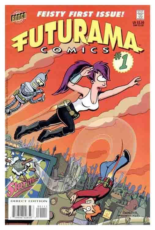 Собрание комиксов Футурама