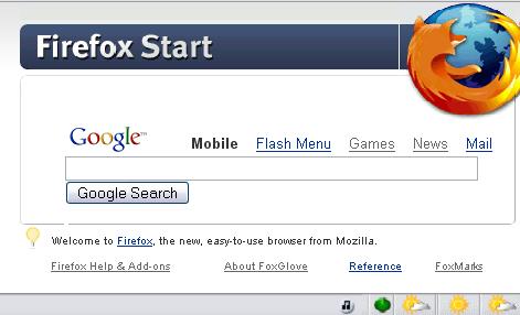FireFox Start