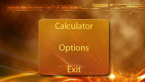 Калькулятор для PSP