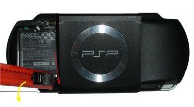 Разборка PSP