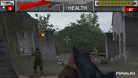 Call Of Duty 2 PSP Edition