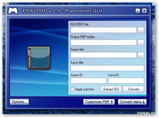 Как создать папку iso на psp 3008