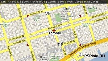 PSP-Maps v.1.0