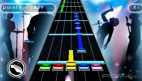 Guitar star [PSP] + Guitar Star MOD Rock Band