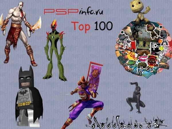 Top 100 лучших игр на Psp глазами геймеров