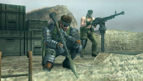 Новые скриншоты игры Metal Gear Solid:Peace Walker