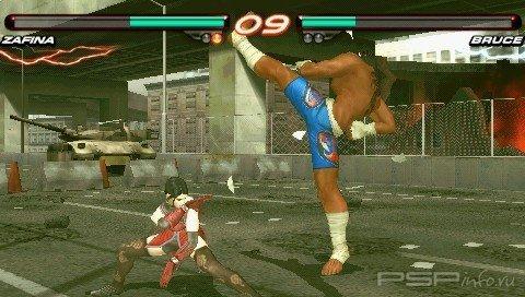 Официальный релиз игры Tekken 6
