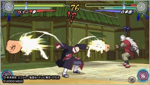 Naruto Shippuuden Narutimate Accel 3 скриншоты