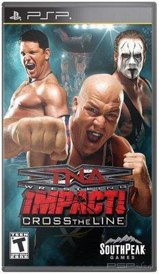 TNA Impact: Cross the Line / EN / Fighting / 2010 / PSP