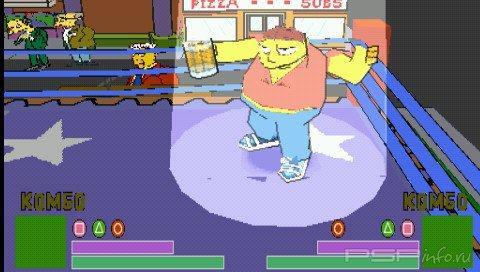 The Simpsons Wrestling [RUS]