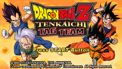 Dragon Ball Z: Tenkaichi Tag Team [ENG] [Patched]