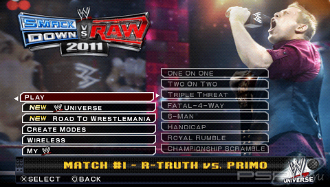 WWE SmackDown! vs. RAW 2011 [ENG] [Patched]