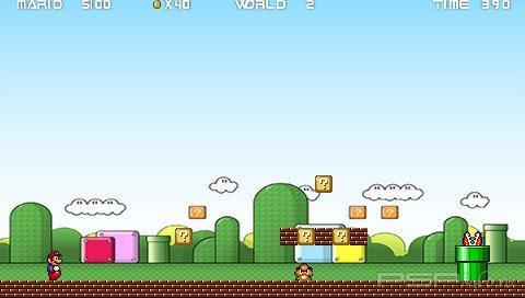 Mario Fusion 2.0 [HomeBrew]