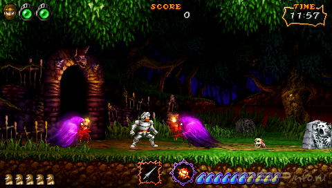 Ultimate Ghosts 'N Goblins [FULL][CSO][ENG]