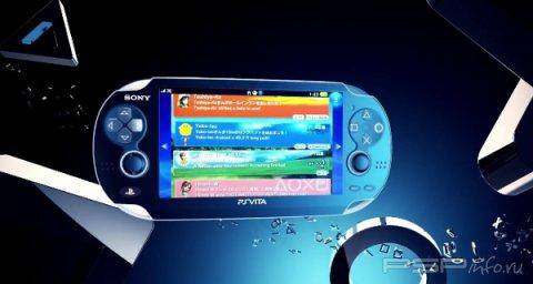 Содержимое PS Vita
