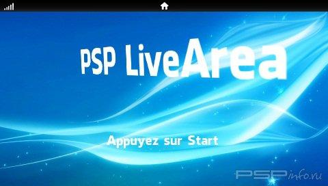 PSP Live Area v1.5 [HomeBrew]