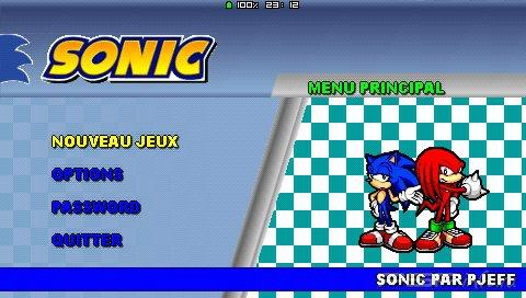 Sonic Pjeff [HomeBrew]