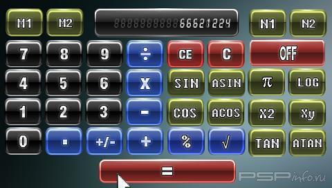 PSP Calcula V1.7 [HomeBrew]