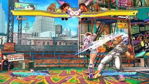 Street Fighter X Tekken - новые скриншоты и геймплейные видеоролики