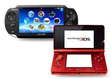 Ps Vita vs. 3DS: ролик с тестом батареи