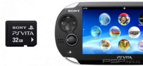 Цены GameStop на карты памяти для PS Vita неофициальные