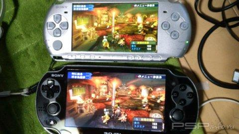 Final Fantasy Type-0 и Monster Hunter Portable 3rd PSP vs. PlayStation Vita