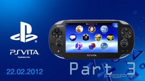 Обзор консоли PlayStation Vita от Redsungamer - видеоролик, часть 3