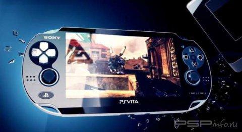 Дельфины на экране PS Vita