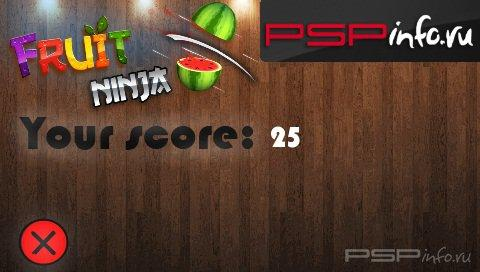Fruit Ninja v4.0 Pre-Release 1 [HomeBrew]