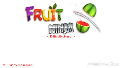 Fruit Ninja v1.2 от vladgalay [HomeBrew]