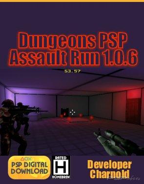 Dungeons PSP Assault Run 1.0.6 [Homebrew]