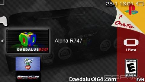 DaedalusX64 r747 [HomeBrew][Signed]