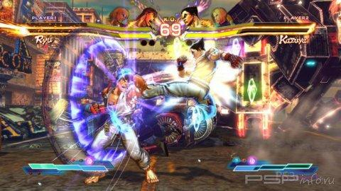 Street Fighter X Tekken: новые скриншоты