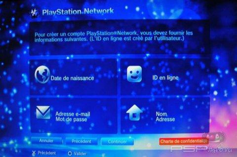 Инструкция по созданию PSN аккаунта на PS Vita