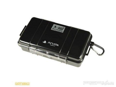 Pelican 1060 - кейс военного образца для PlayStation Vita