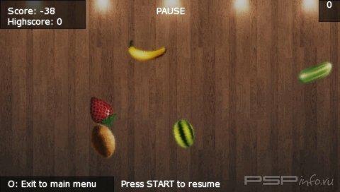 Fruit Ninja v1.35 HD [HomeBrew]