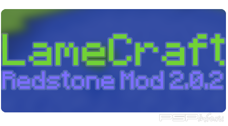 LameCraft Redstone Mod 2.0.2 (Beta) [HomeBrew]