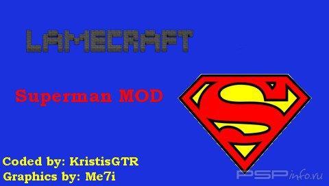 LameCraft Superman Mod 0.2  [HomeBrew]