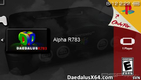 DaedalusX64 rev.783