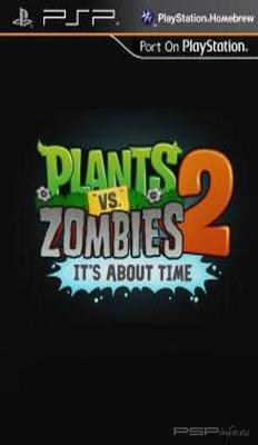 Plants vs Zombies 2:It's about time v0.5 Beta [HomeBrew][ENG]