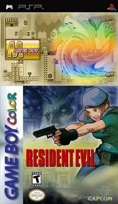 Resident Evil for Game Boy Color + MasterBoy v2.10 [HomeBrew]