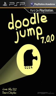 Doodle Jump for PSP v7.0.0 [HomeBrew][2014]