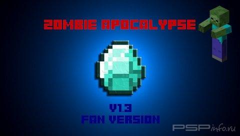 Minecraft PSP Edition v1.3 - Zombie Apocalypse [Fan Version][HomeBrew][2015]