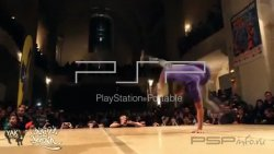 Тема 'Break Dance [Gameboot]' в формате GAMEBOOT для PSP