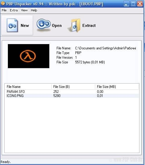 Psp Eboot.pbp File